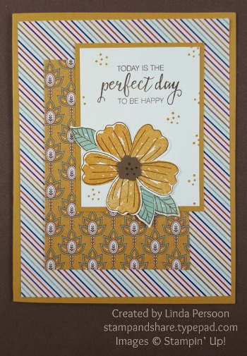 Petals & Paisleys with Bunch of Blossoms Card by Linda Persoon stampandshare.typepad.com