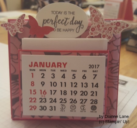 Desk Calendar by Dianne Lane