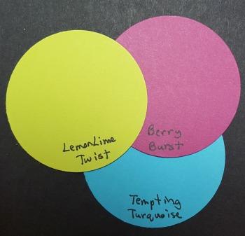 LemonLimeTwist BerryBurst TemptingTurquoise Color Combo