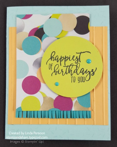 Picture Perfect Birthday by Linda Persoon stampandshare.typepad.com