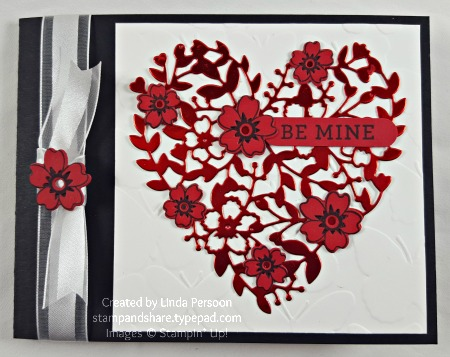 Red Foil Bloomin' Heart_blog