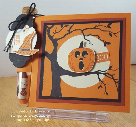Spooky Night Treat Tube Holder by Linda Persoon stampandshare.typepad.com